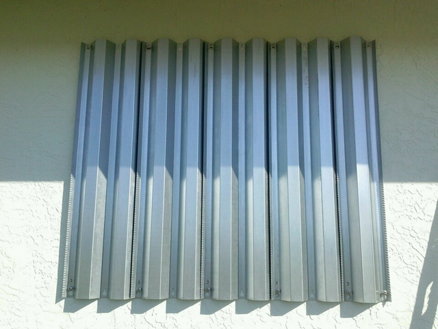 Steel Storm Panels Hurricane Windows Of Miami