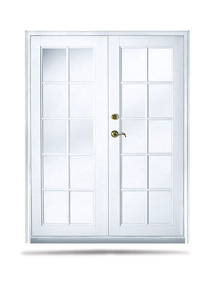 La porte french door series 2200 double hurricane for Double porte
